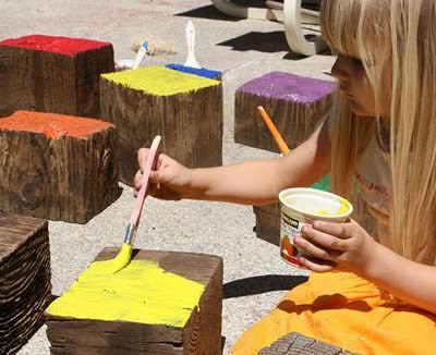 Diy: Giant Wooden Blocks 3 • Do-It-Yourself Ideas