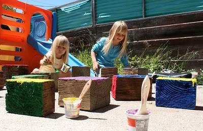 Diy: Giant Wooden Blocks 2 • Do-It-Yourself Ideas
