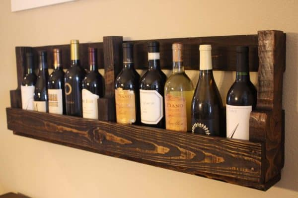 Pallet Wine Rack 1 • Recycled Pallets