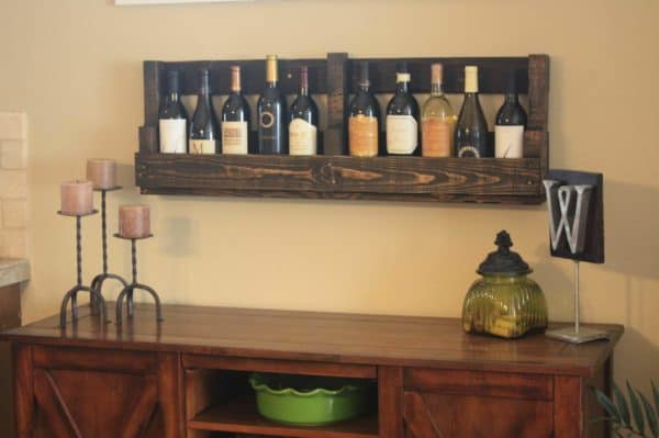Pallet Wine Rack 2 • Recycled Pallets