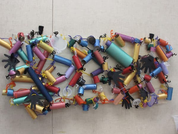 Pipe Piper Recycled Art 1 • Do-It-Yourself Ideas