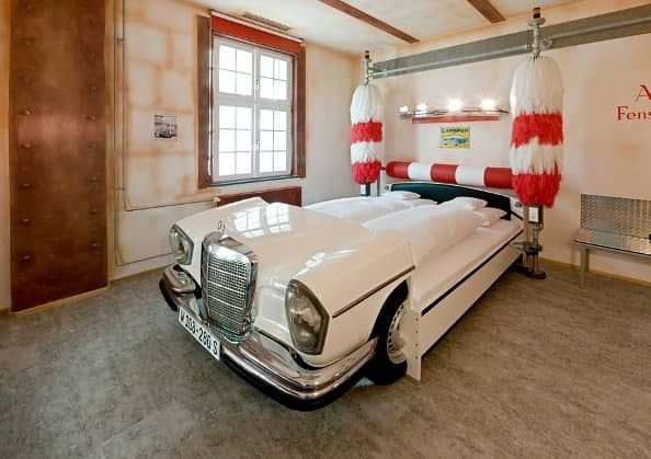 Cars Repurposed as Beds 1 • Home Improvement