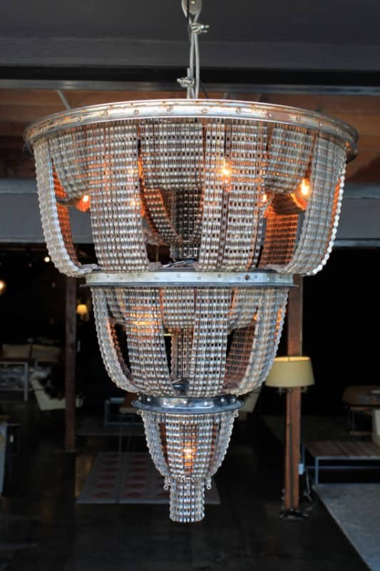 Facaro: Recycled Bicycle Chandeliers 3 • Lamps & Lights