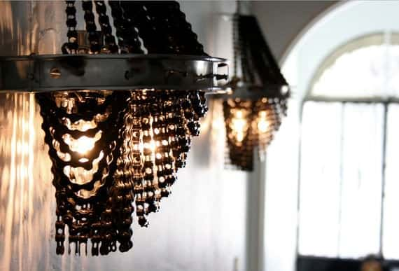 Facaro: Recycled Bicycle Chandeliers 5 • Lamps & Lights