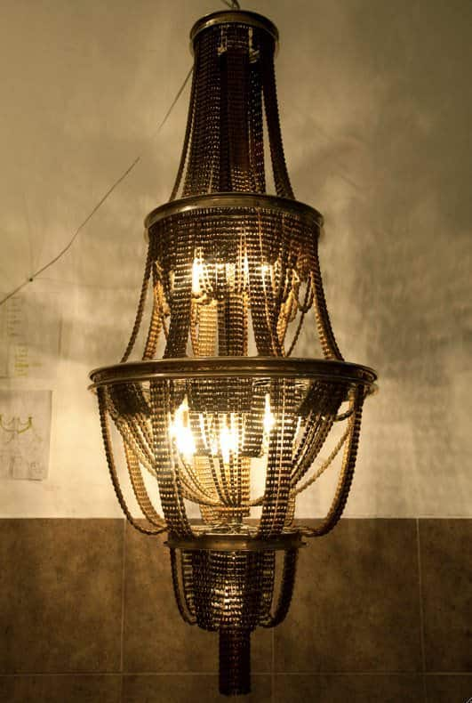 Facaro: Recycled Bicycle Chandeliers 4 • Lamps & Lights