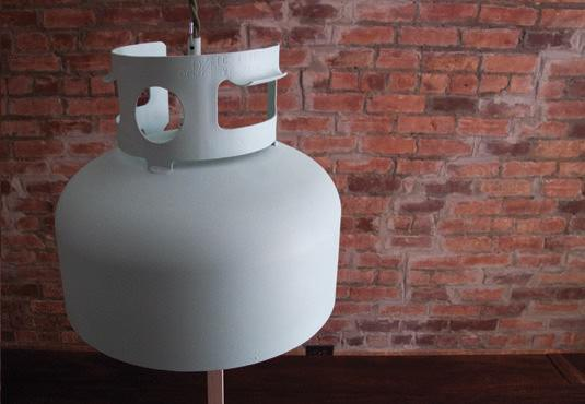 Lamp from Propane Tank 2 • Home Improvement