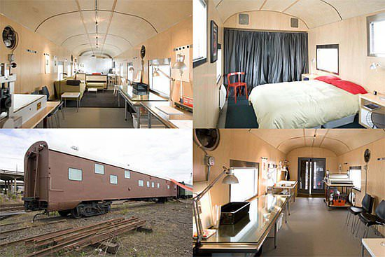 1949 Sleeper Car Converted into Luxurious Home 2 • Home Improvement