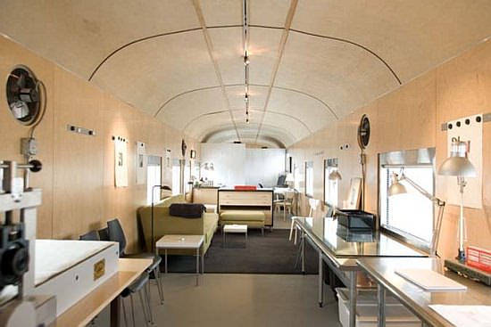 1949 Sleeper Car Converted into Luxurious Home 1 • Home Improvement