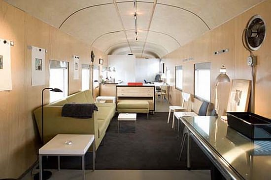 1949 Sleeper Car Converted into Luxurious Home 3 • Home Improvement