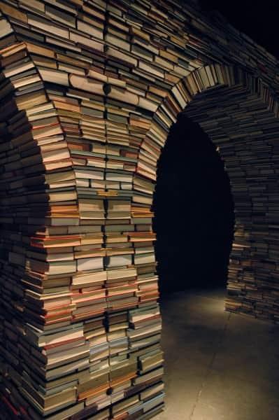 Book Arch 1 • Interactive, Happening & Street Art