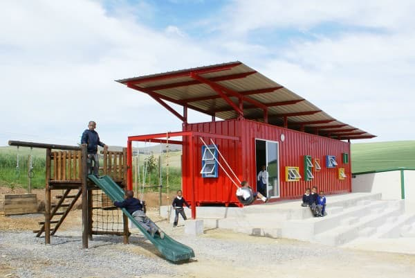 Container Reused As A School 1 • Home Improvement