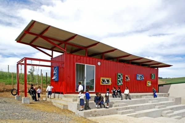 Container Reused As A School 2 • Home Improvement