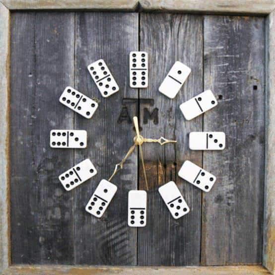 Dominoes Clock 1 • Accessories