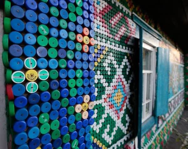 House Made Of 30,000 Recycled Plastic Bottle Caps 2 • Home Improvement