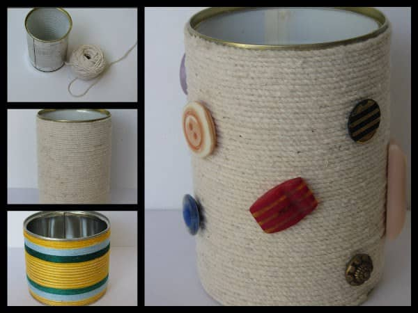 Recycled Tin Can Accessories Recycled Packaging