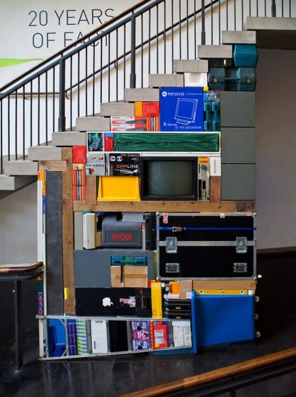 Tetris Art 3 • Recycled Art