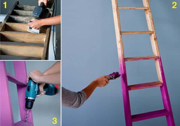 Ladder --> Clothing Rack 2 • Home Improvement