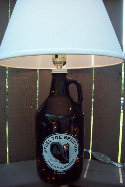 Beerbottlelamp