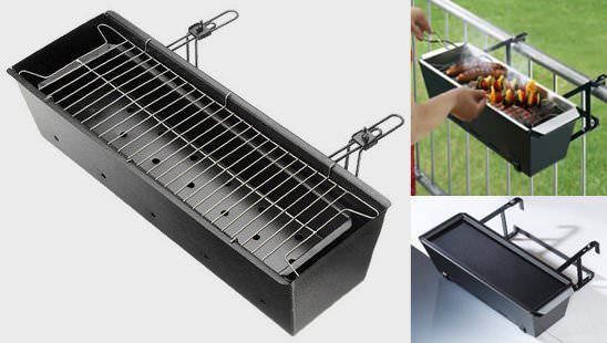 Bbq for Your Balcony 2 • Do-It-Yourself Ideas