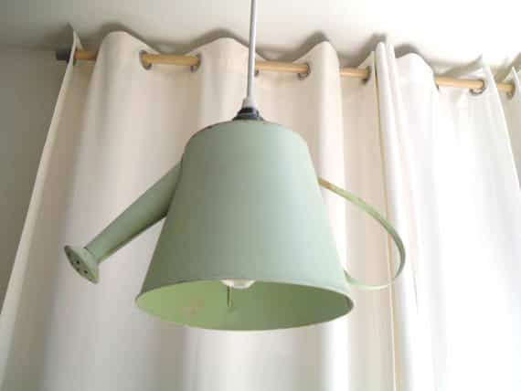 Watering Can Pendant Light 1 • Do-It-Yourself Ideas