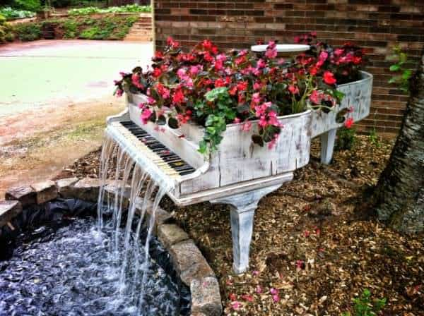 Piano to Water Fountain 1 • Home Improvement