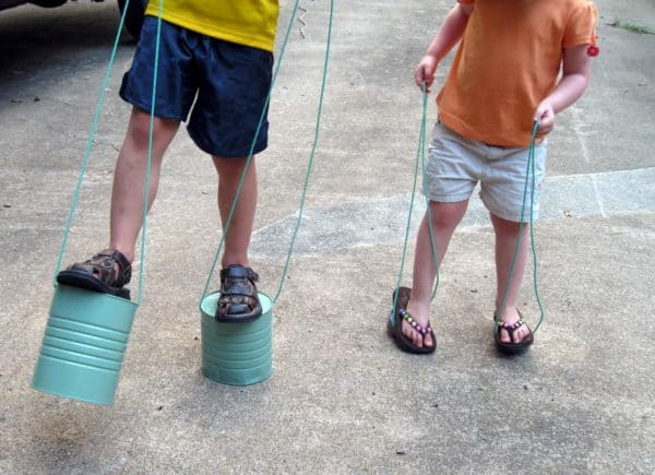 Can Stilts: For Your Childhood Memories 1 • Do-It-Yourself Ideas