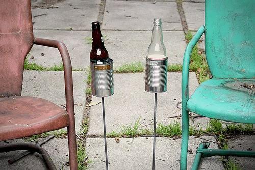 Repurposed Can Beer Holder 1 • Recycling Metal