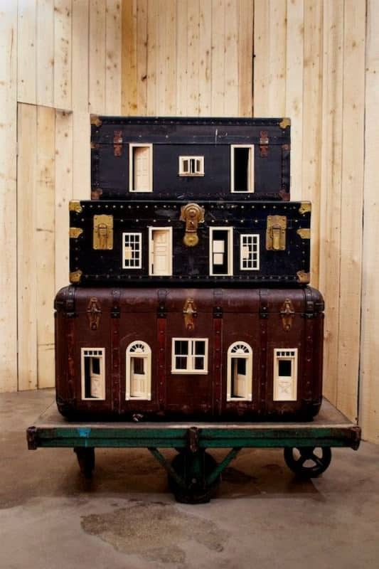 Suitcases Turned into Miniature Homes 1 • Accessories