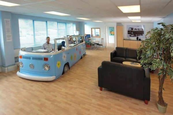 Volkswagen Van –> Office 1 • Home Improvement