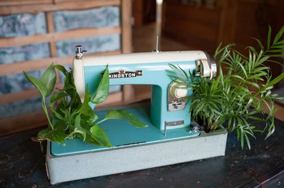 Sew You Want an Indoor Garden? 1 • Do-It-Yourself Ideas