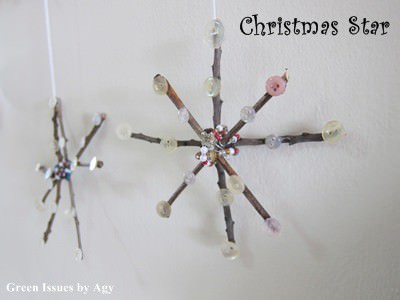 Christmas Star From Twigs Accessories