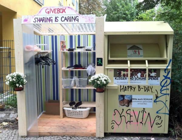 Givebox 1 • Interactive, Happening & Street Art