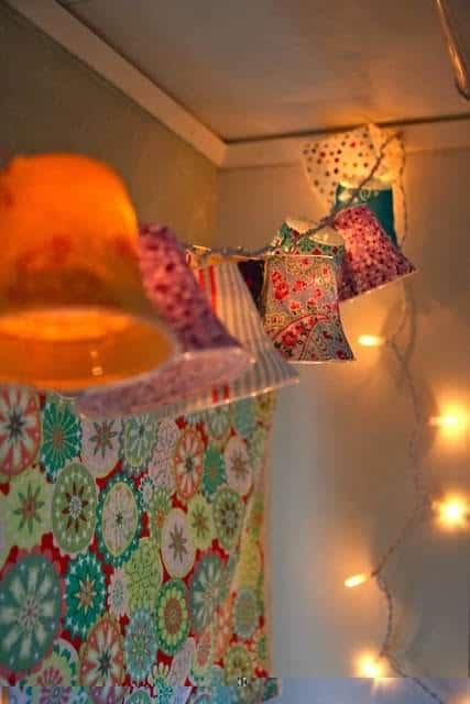 Diy : Lamp Shades on a String 1 • Clothing