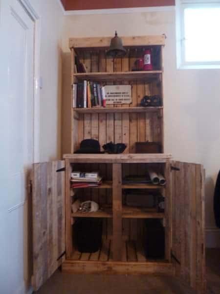 Pallet Dresser 1 • Recycled Furniture