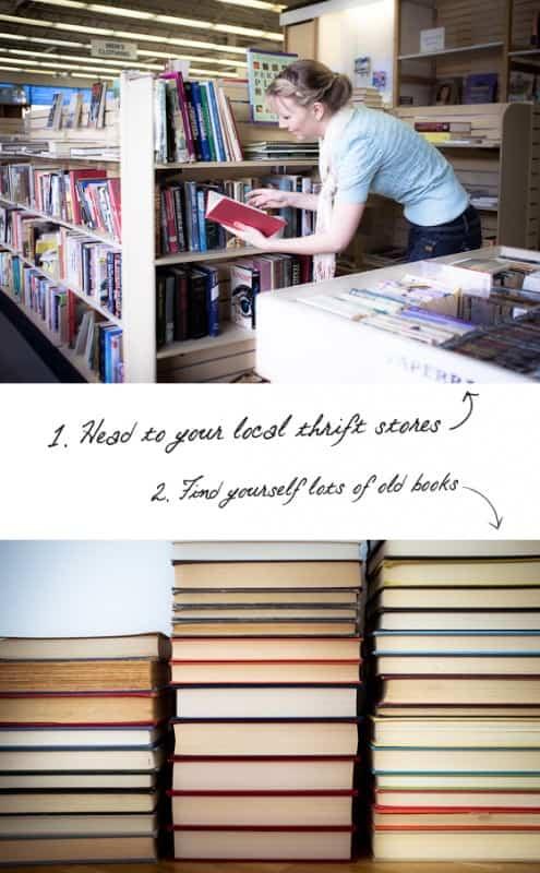 Diy : Book Headboard 2 • Do-It-Yourself Ideas