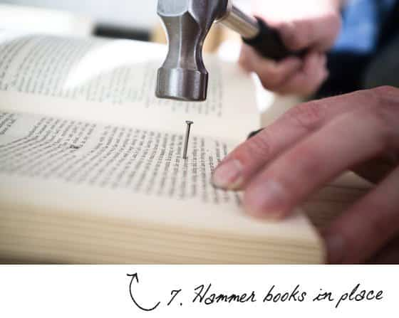 Diy : Book Headboard 7 • Do-It-Yourself Ideas