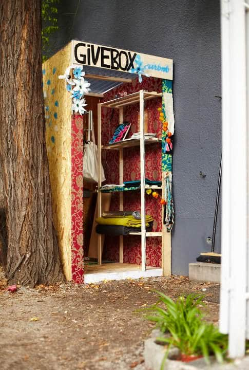 Givebox 4 • Interactive, Happening & Street Art