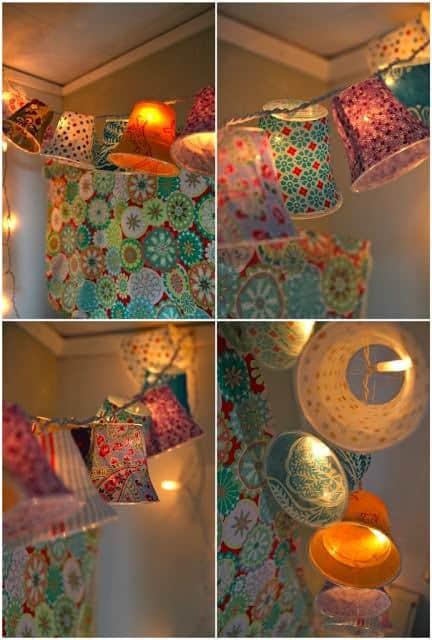 Diy : Lamp Shades on a String 2 • Clothing