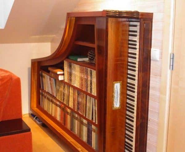Repurposed-piano-book-case