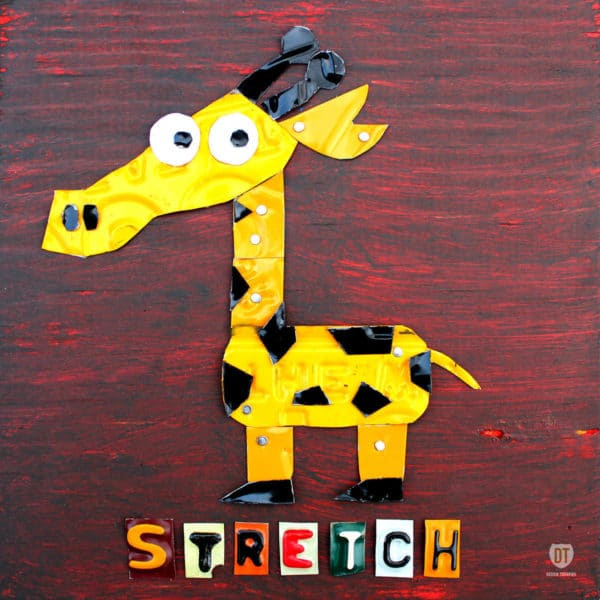 License Plate Animals 3 • Recycled Art