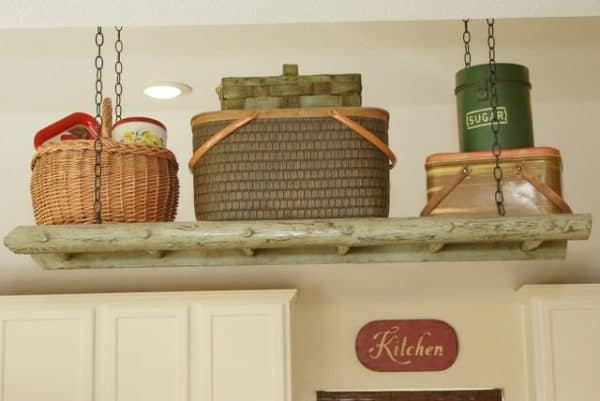 Ladder Up: Storage for Your Kitchen 1 • Wood & Organic