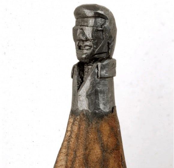 Pencil Miniature Art 5 • Recycled Art
