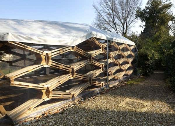 Wooden Pallets Pavilion Home Improvement Recycled Pallets