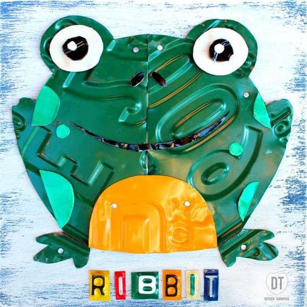 ribbit_the_frog_license_plate_art_600