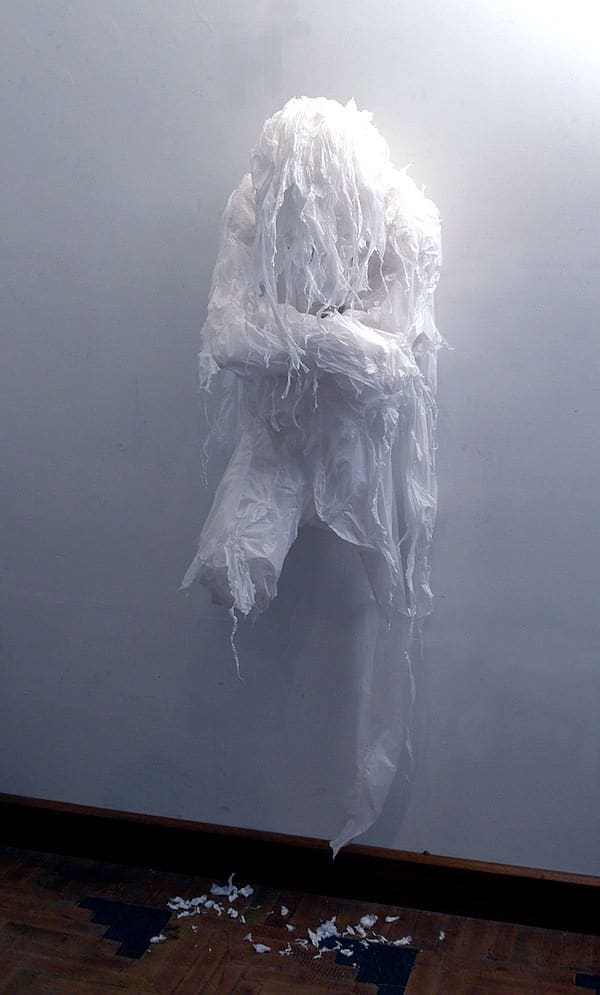 Discarded Plastic Bags Sculptures by Khalil Chishtee 1 • Recycled Art