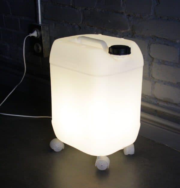 Plastic Bottle Lamp Lamps & Lights Recycled Plastic