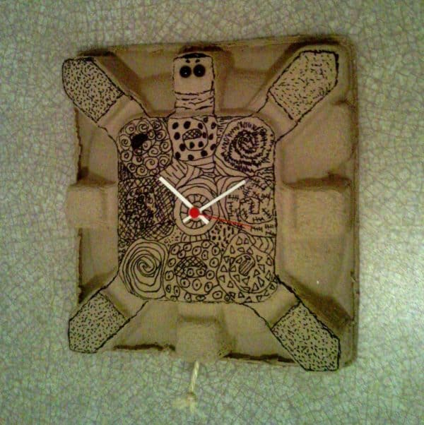 Tortue-horloge