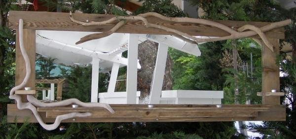 Handmade Mirrors from Upcycled Wood and Driftwood Accessories Wood & Organic