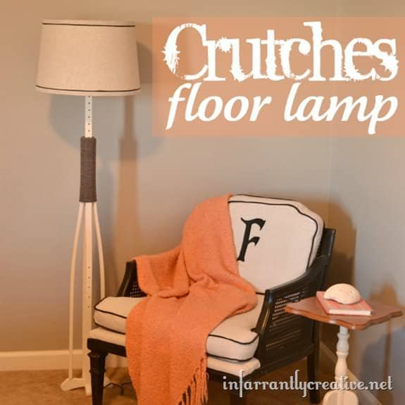 12 Ideas to Upcycle Your Old Crutches 27 • Do-It-Yourself Ideas