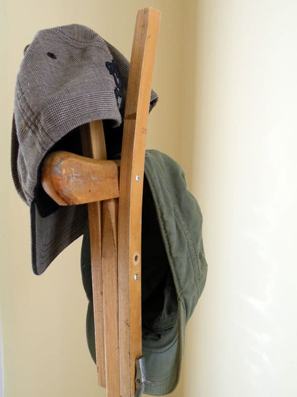 12 Ideas to Upcycle Your Old Crutches 17 • Do-It-Yourself Ideas